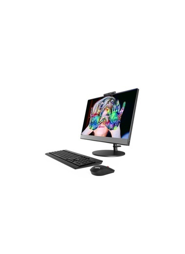 "Lenovo V530 10US00R0TX12 i3-9100T 16GB 512SSD 21.5"" FullHD FreeDOS All in One Bilgisayar Renkli"